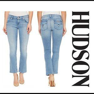 Hudson Jeans Bailee Midrise Crop  Size 27
